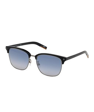 Ermenegildo Zegna Acetate & Metal Sunglasses