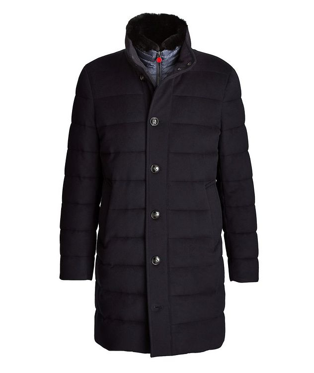 Wool-Cashmere Puffer Jacket picture 1