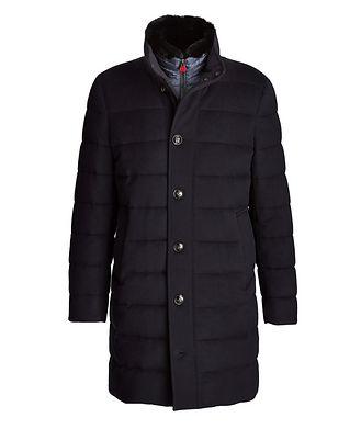 Kiton Wool-Cashmere Puffer Jacket