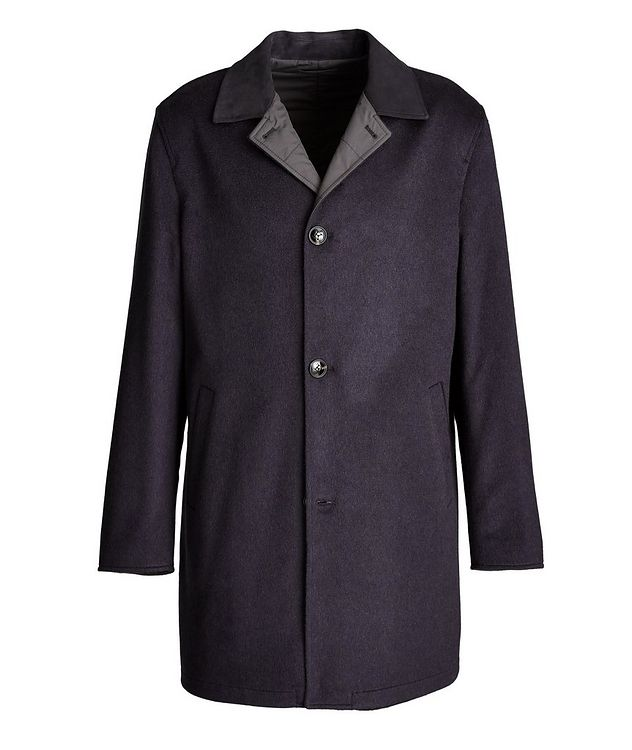 Reversible Cashmere Coat picture 1