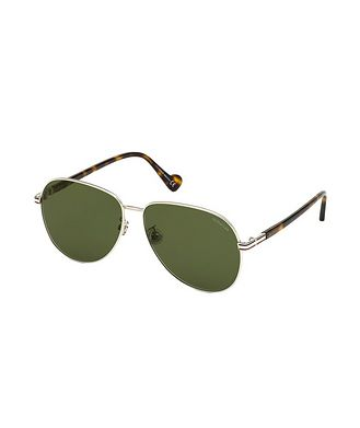 Moncler Metal Aviator Sunglasses