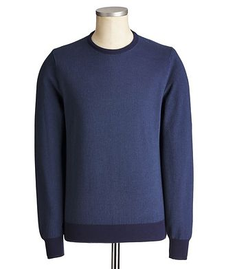 Canali Knit Cotton Sweater