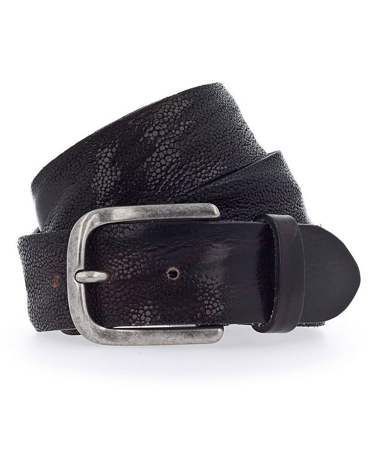 Embossed Leather Belt image 0