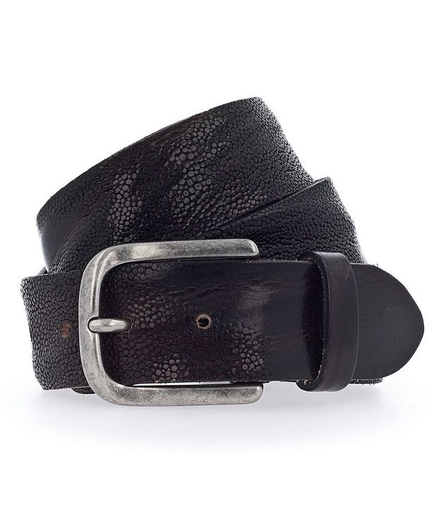Embossed Leather Belt picture 1