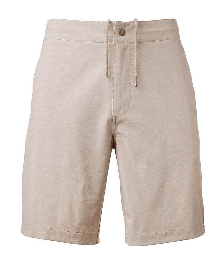 Aloha Stretch-Cotton Shorts image 0