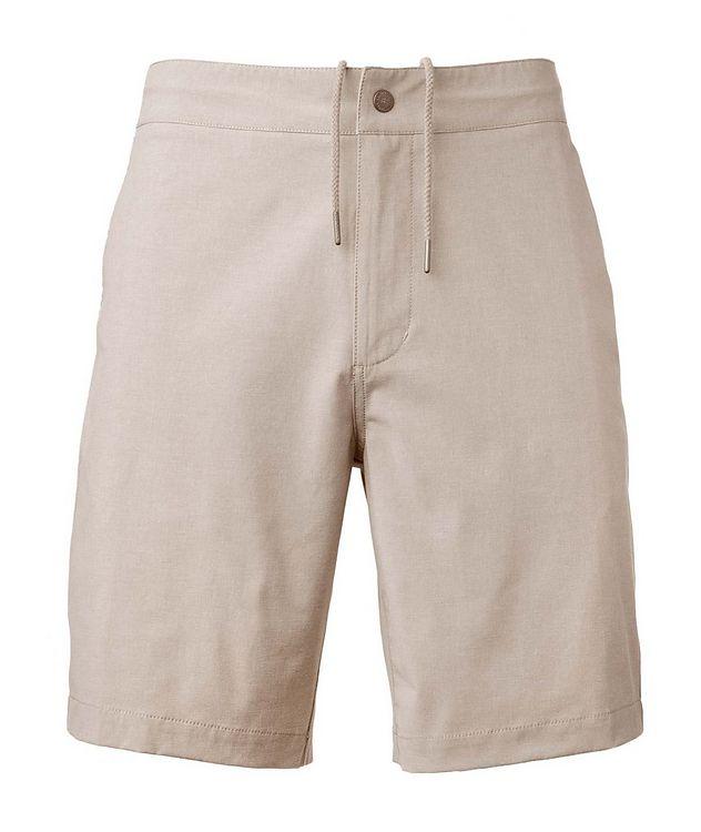 Aloha Stretch-Cotton Shorts picture 1