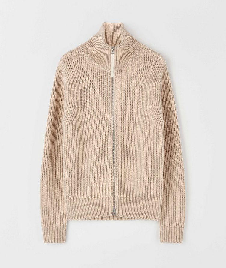 Nyman Zip-Up Wool Cardigan image 0