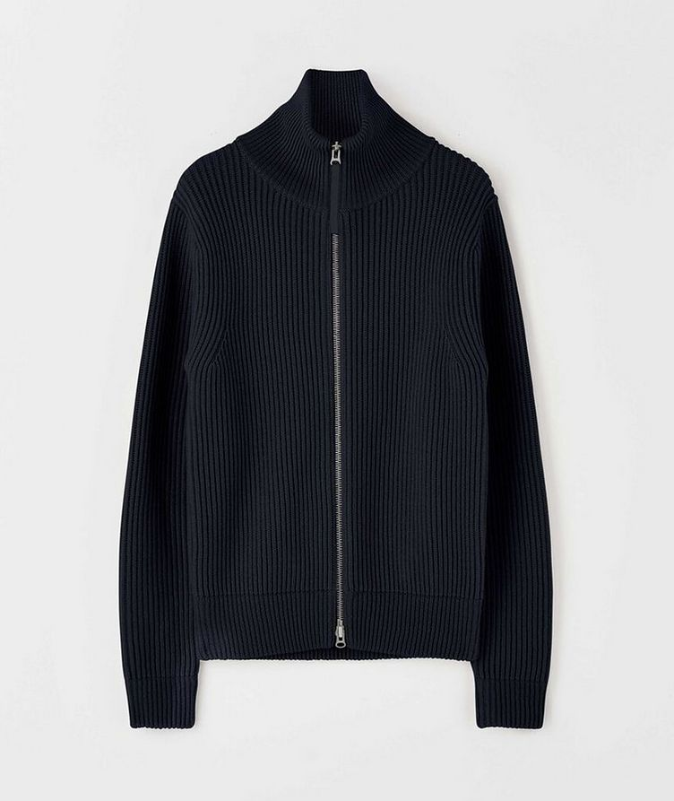 Nyman Merino Wool Zip-Up Cardigan image 0