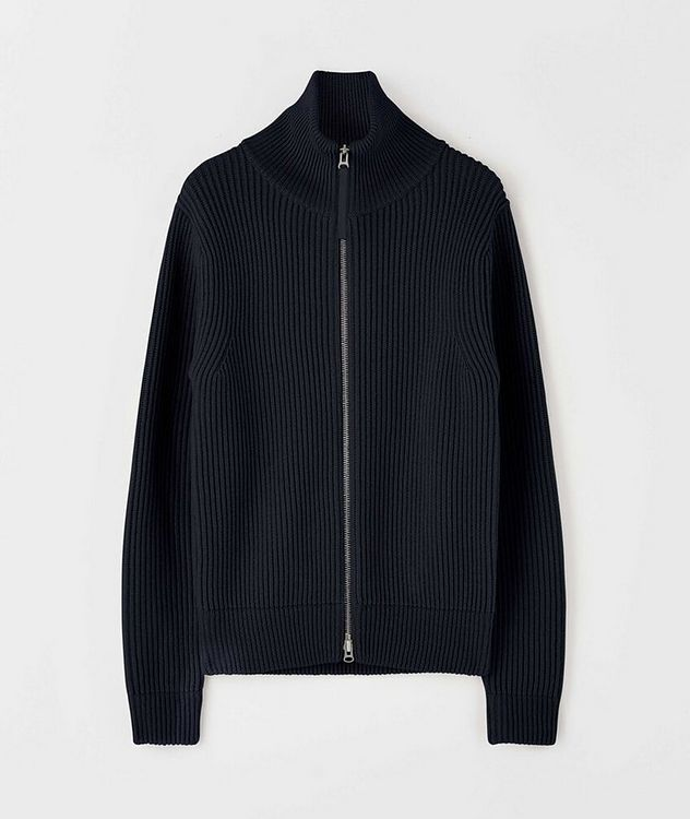 Nyman Merino Wool Zip-Up Cardigan picture 1