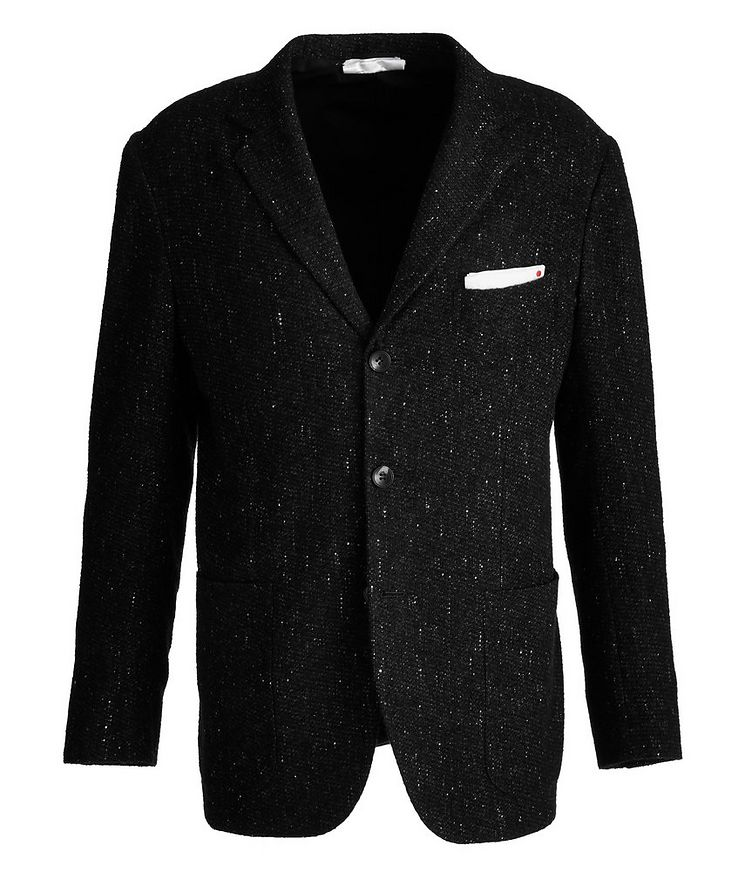 Contemporary Fit Cashmere, Silk, Lama Sports Jacket image 0