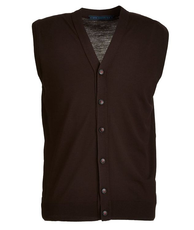 Button-Up Wool Vest picture 1