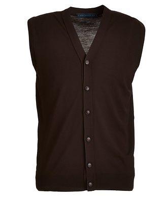 Kiton Button-Up Wool Vest