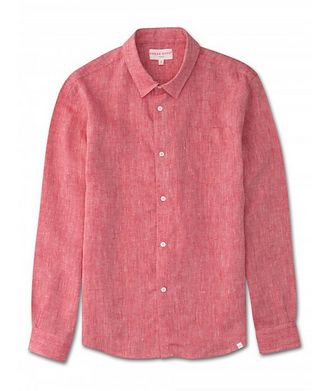 Derek Rose Resort Linen Shirt