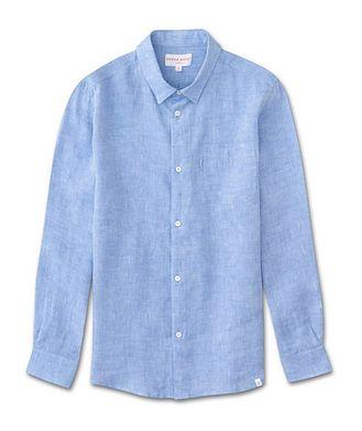 Derek Rose Resort Linen Shirt