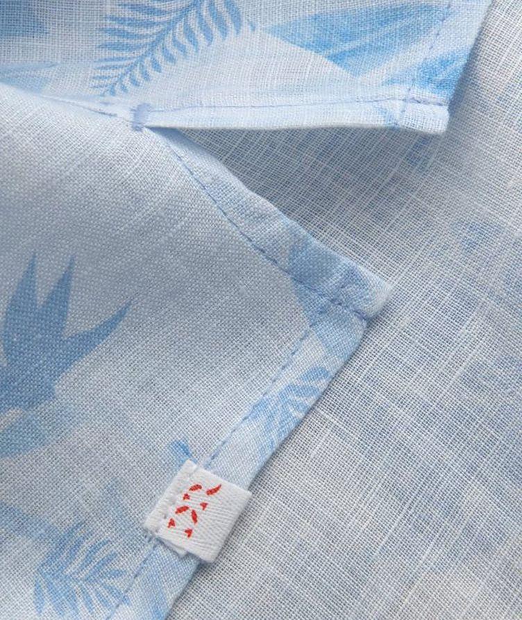 Resort Jungle-Print Linen Shirt image 3