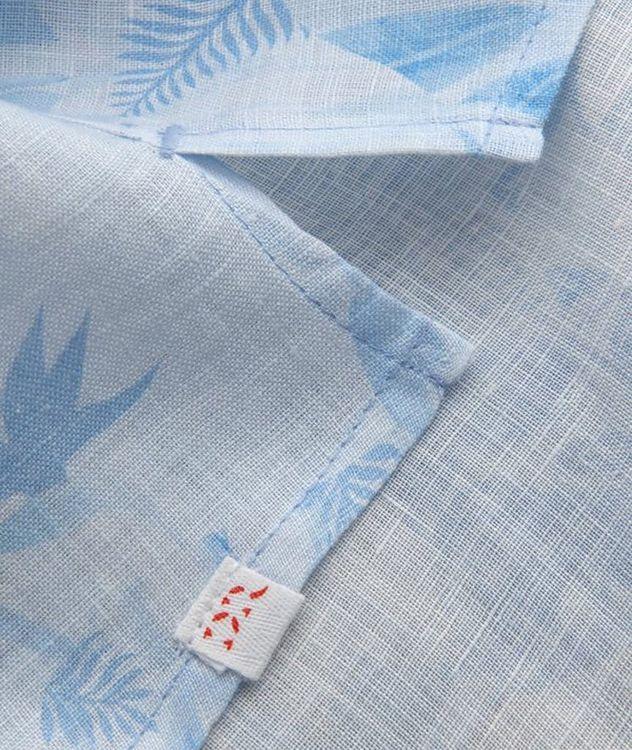 Resort Jungle-Print Linen Shirt picture 4