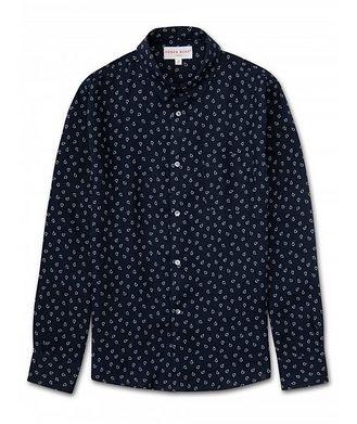 Derek Rose Resort Paisley Linen Shirt