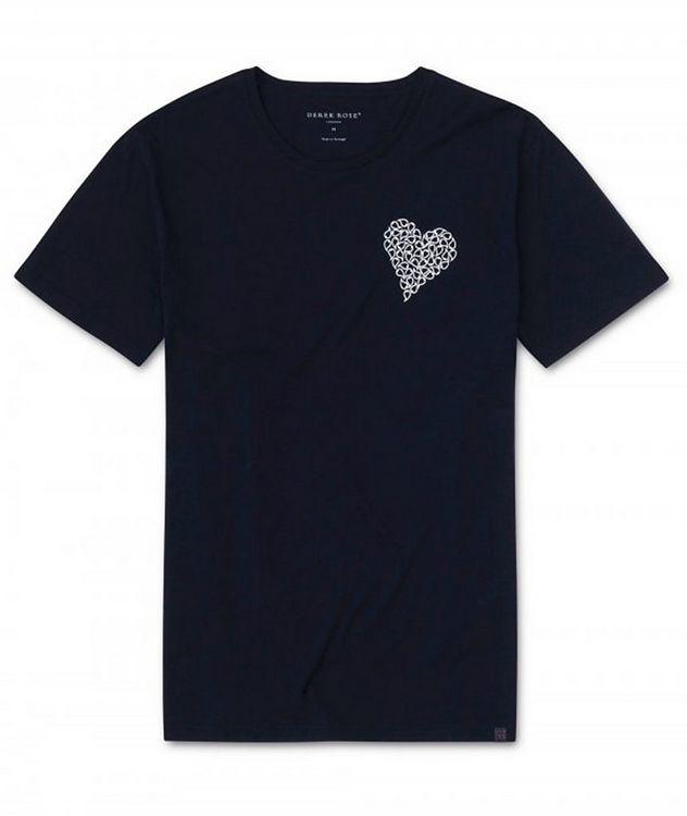 T-shirt en coton avec cœur, collection Resort picture 1