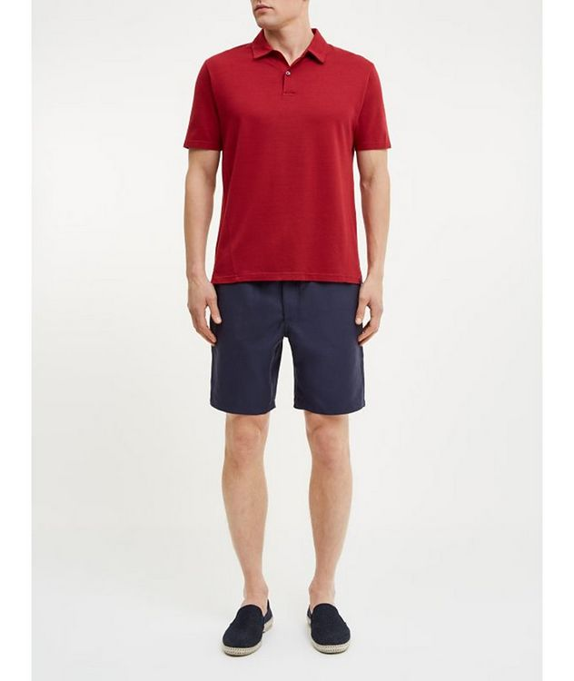 Resort Cotton-Tencel Piqué Polo picture 3