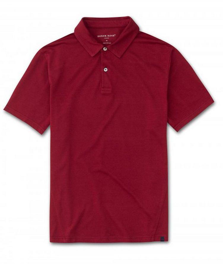 Resort Cotton-Tencel Piqué Polo image 0