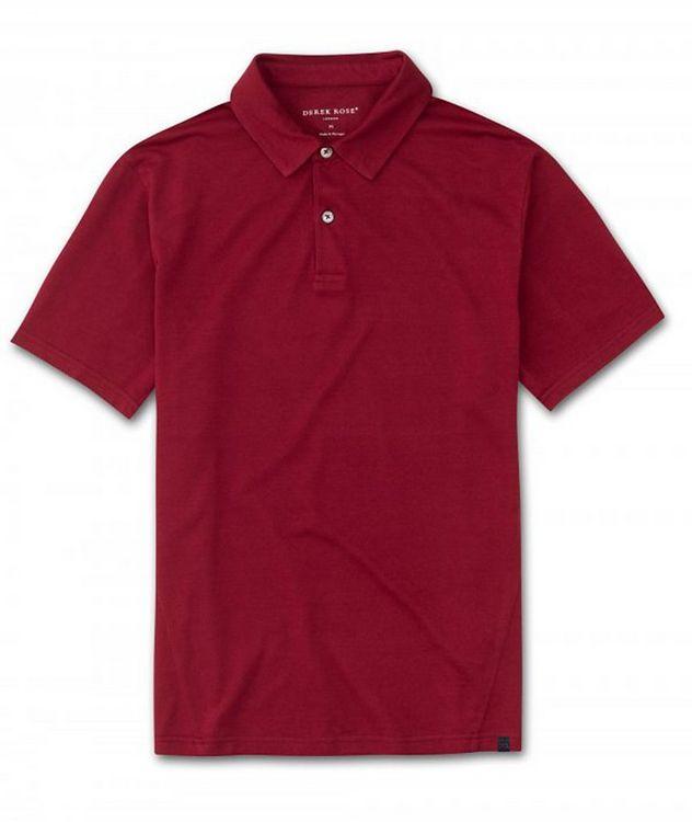 Resort Cotton-Tencel Piqué Polo picture 1