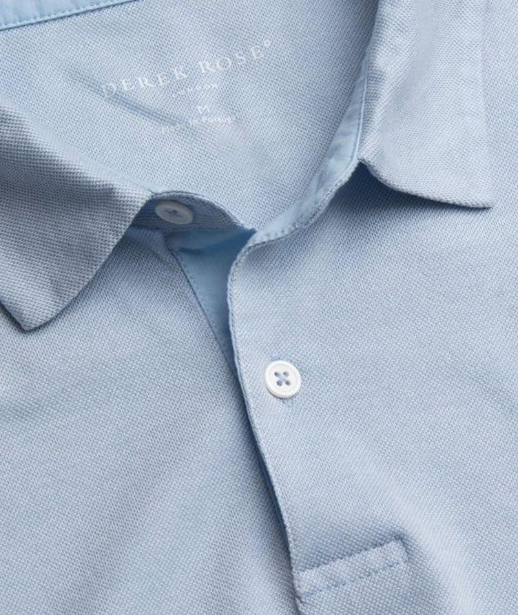 Resort Cotton-Tencel Piqué Polo image 1