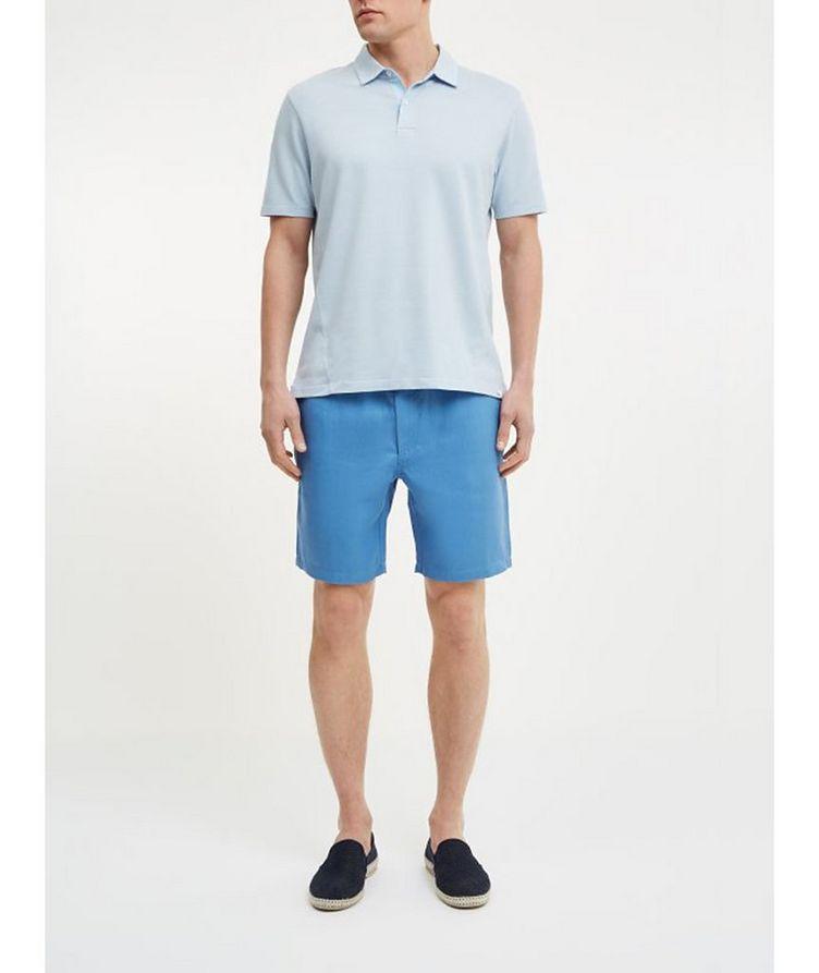 Resort Cotton-Tencel Piqué Polo image 2