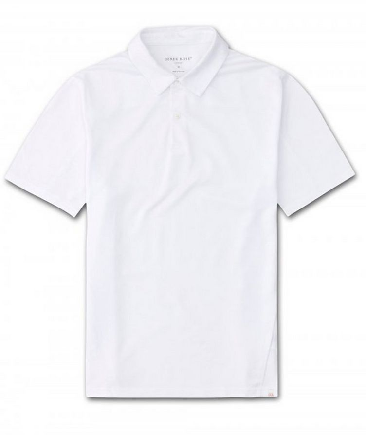 Resort Cotton-Tencel Piqué Polo image 0