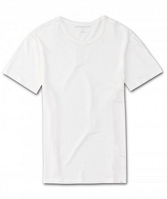 Derek Rose Resort Jordan Linen T-Shirt