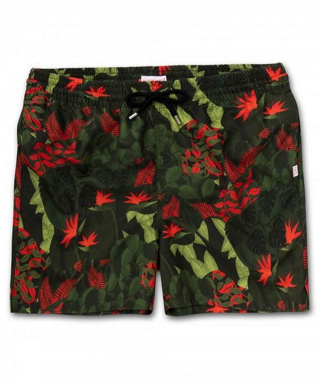 Resort Maui Jungle-Printed Swim Shorts picture 1