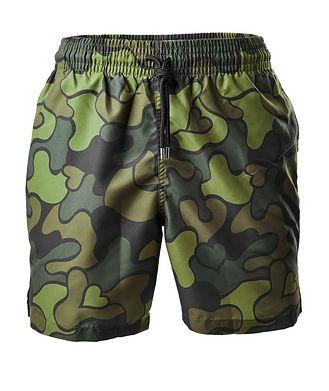 Derek Rose Resort Maui Camouflage Swim Shorts