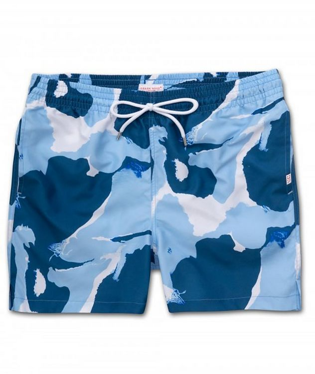 Resort Maui Marble-Printed Swim Shorts picture 1