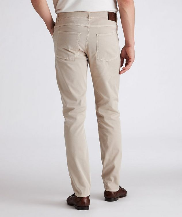 Slim-Fit Stretch-Cotton Jeans picture 3