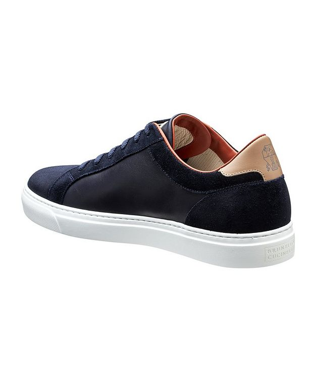 Leather and Suede Sneakers picture 2