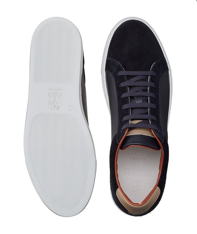 Leather and Suede Sneakers picture 3
