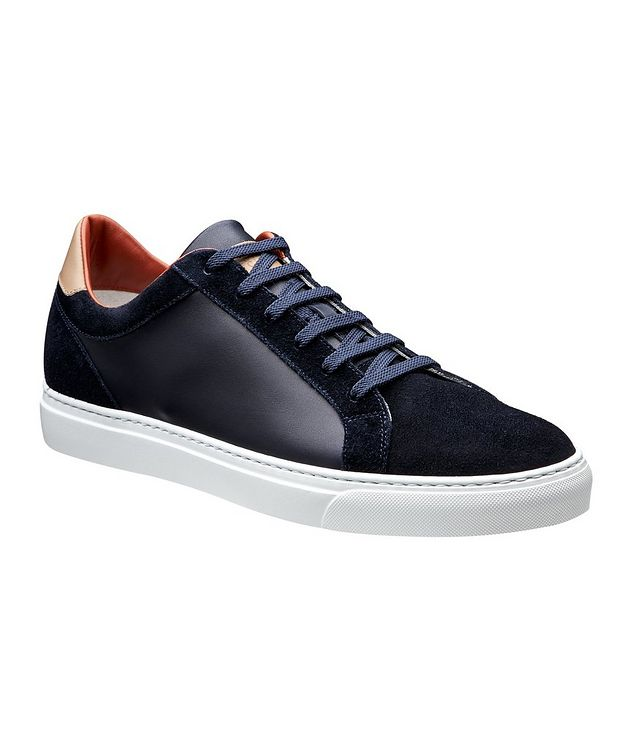 Leather and Suede Sneakers picture 1