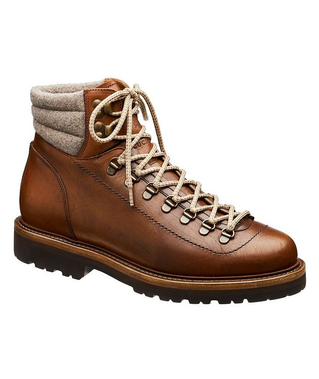 Leather Hiking Boots picture 1