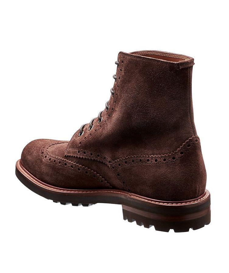 Suede Brogue Boots image 1