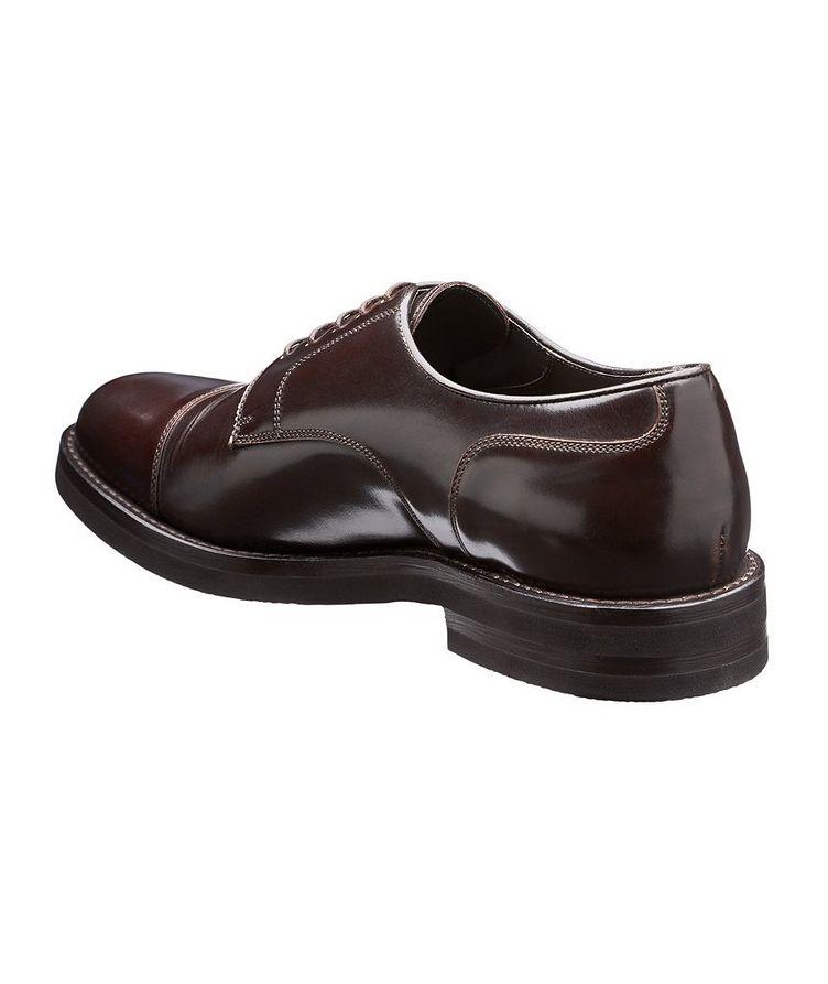 Cap-Toe Leather Derbies image 1