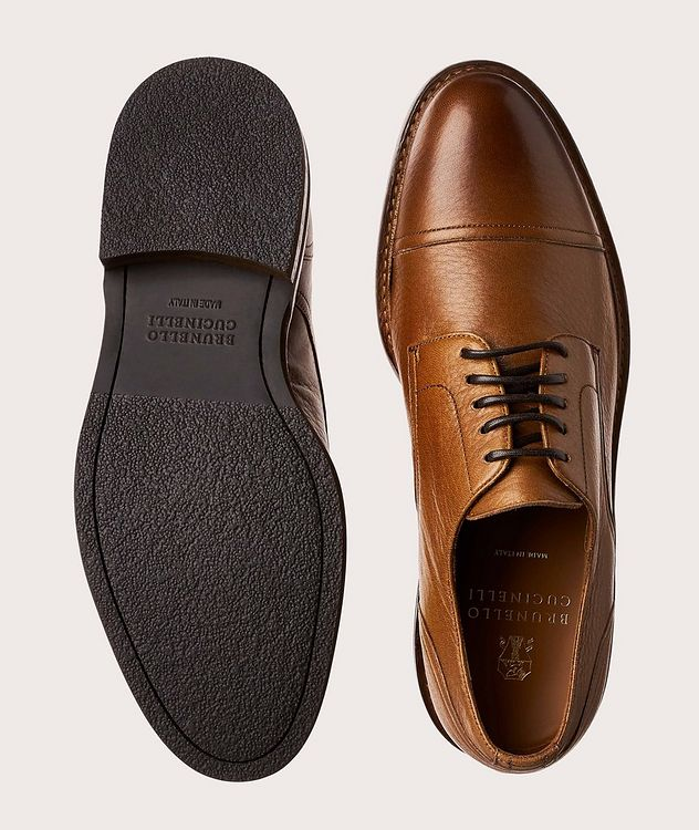 Cap-Toe Leather Derbies picture 1