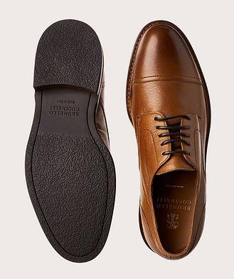 Brunello Cucinelli Cap-Toe Leather Derbies