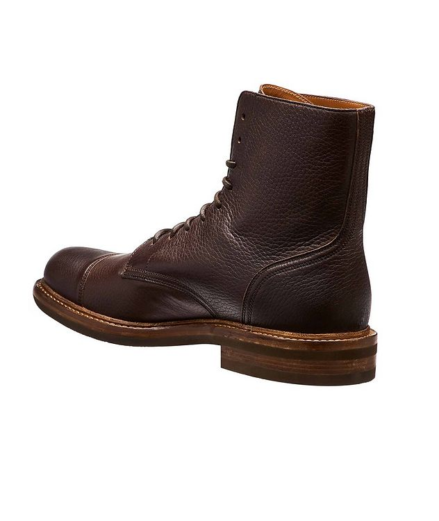 Leather Cap-Toe Boot picture 2