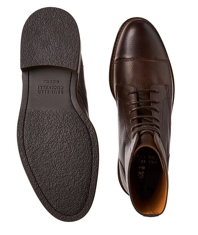 Leather Cap-Toe Boot picture 3