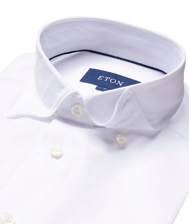 Soft Slim Fit Cotton-Jersey Shirt picture 2