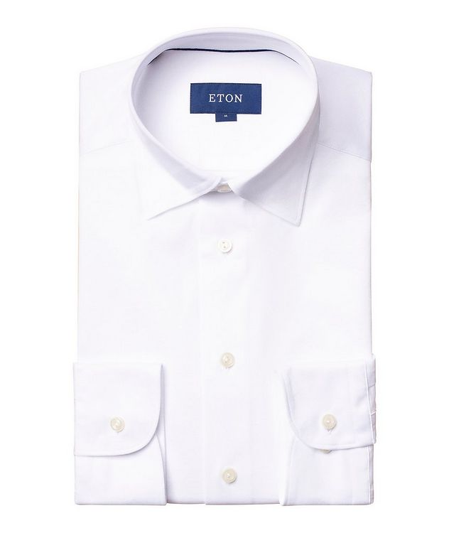 Soft Slim Fit Cotton-Jersey Shirt picture 1