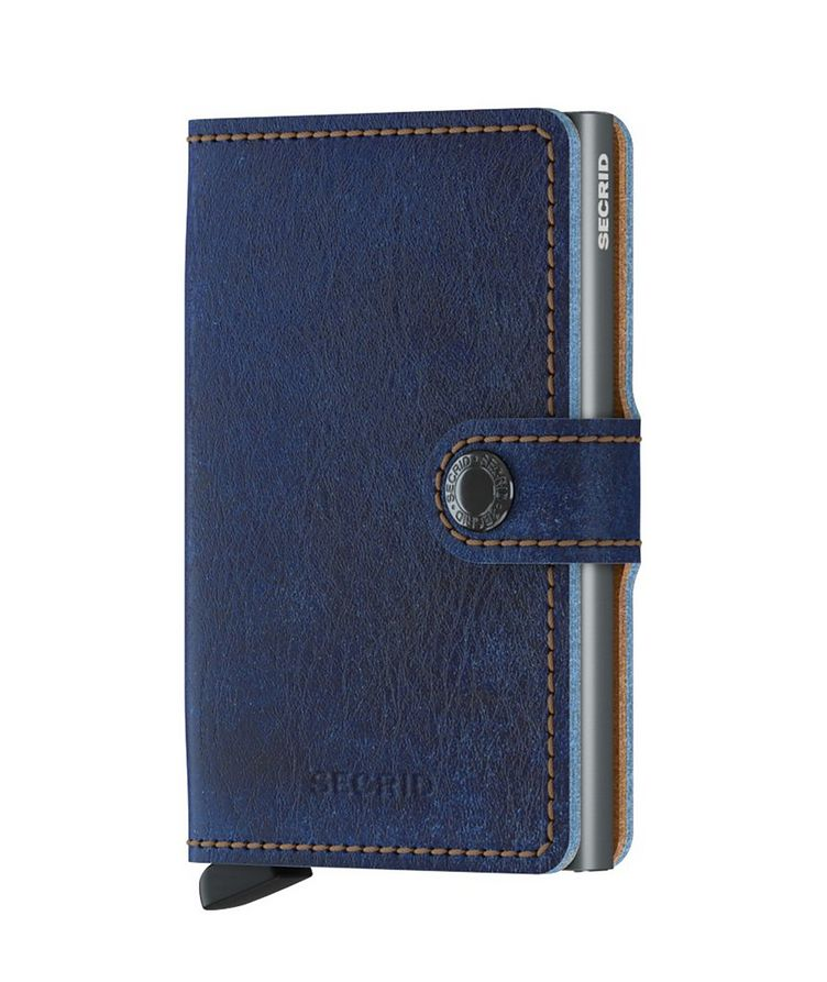 Full-Grain Leather Miniwallet image 0