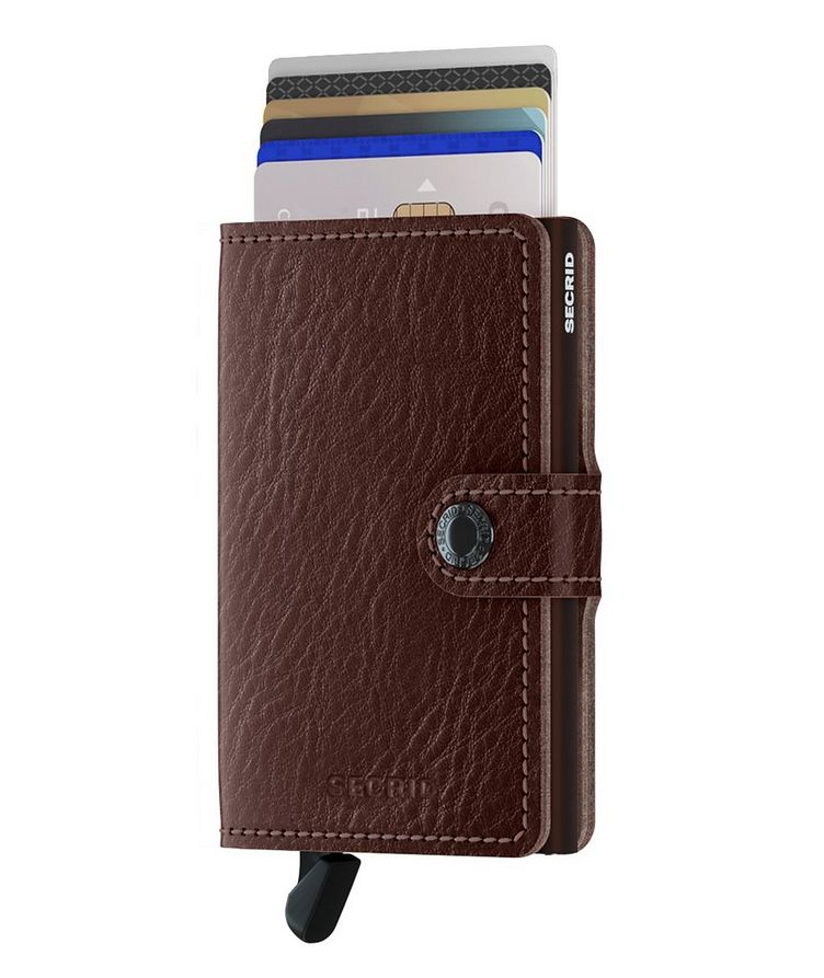 Vegetable-Tanned Leather Miniwallet image 1