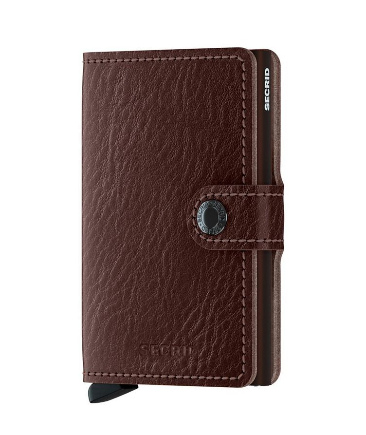 Vegetable-Tanned Leather Miniwallet image 0