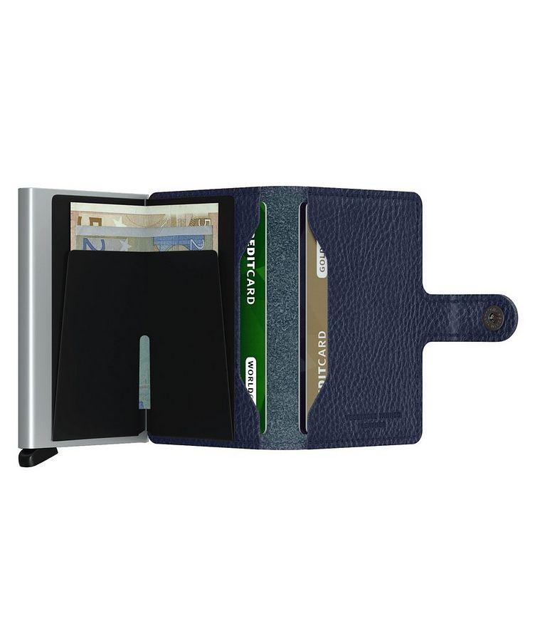 Vegetable-Tanned Leather Miniwallet image 4