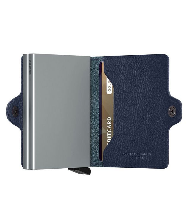 Vegetable-Tanned Leather Twinwallet picture 4